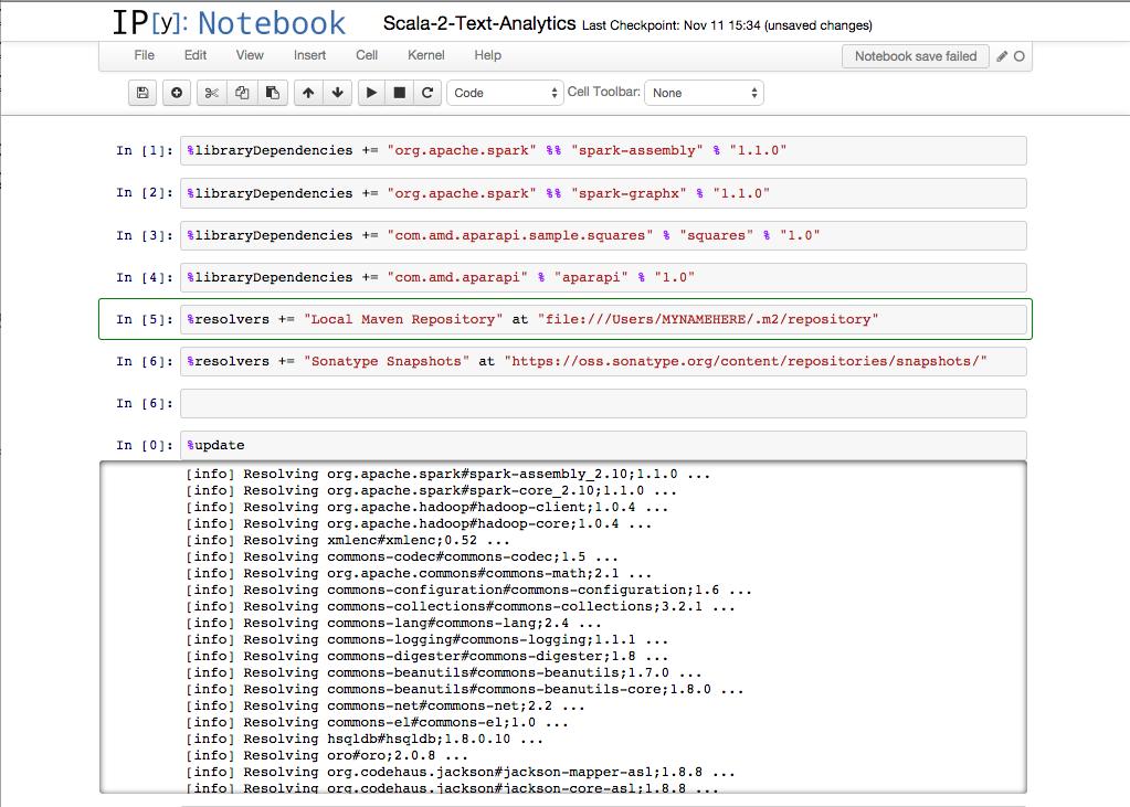 Tutorial: Spark-GPU Cluster Dev in a Notebook - i am trask